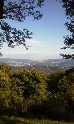 三草山頂上